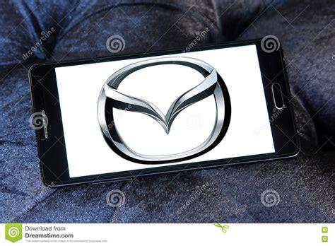 Mazda Car Logo Editorial Photo Cartoondealercom 76903169