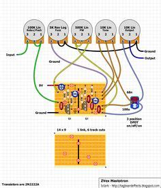 Fuzz Wiring 3pdt by True Bypass Looper Wiring Diagram Led Indicator 3pdt