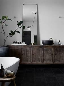 salle de bain scandinave idees deco et mobilier With salle de bain design avec décoration de tables de réveillon