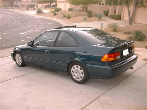 96 Civic Ex Coupe For Sale -- New Paint