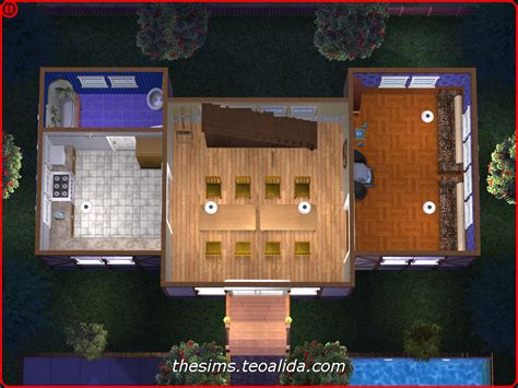 symmetrical rustic style house   lot  sims fan page