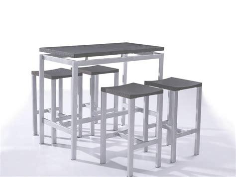 table haute cuisine fly table et chaise cuisine fly bar collection avec table