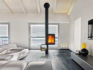 Poele A Bois Design Suspendu : der moderne kaminofen 92 exklusive designs ~ Dailycaller-alerts.com Idées de Décoration