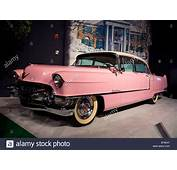 Pink 1955 Cadillac Fleetwood Owned By Elvis Presley On