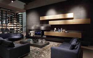 Comfortable Loft Living Italia Living Room