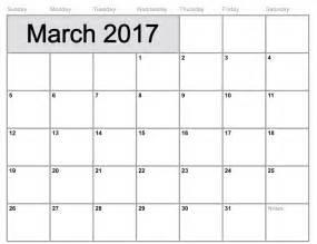 2017 Calendar with Holidays USA Template