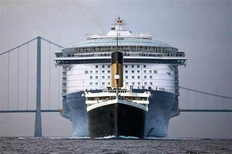 titanic vs modern day cruise ship xcitefun net