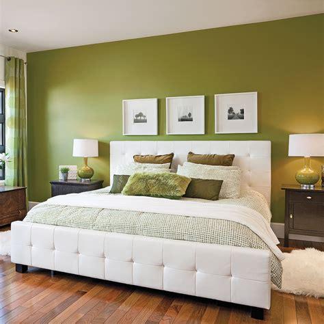 chambre en chambre en vert et blanc chambre inspirations