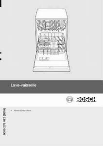 Bosch Sgs 55 E 02 Fr Dishwasher Download Manual For Free