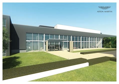 aston martin begins building  factory  st athan