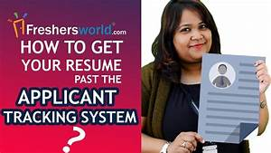 how to get your resume past the applicant tracking system With how to get past applicant tracking system
