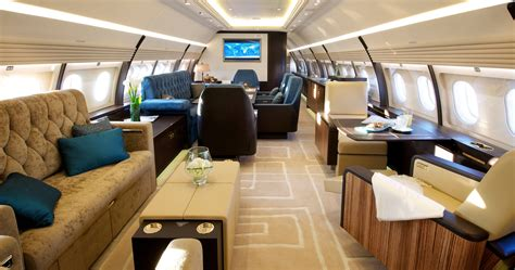 The 15 Most Luxurious Private Jets In The World