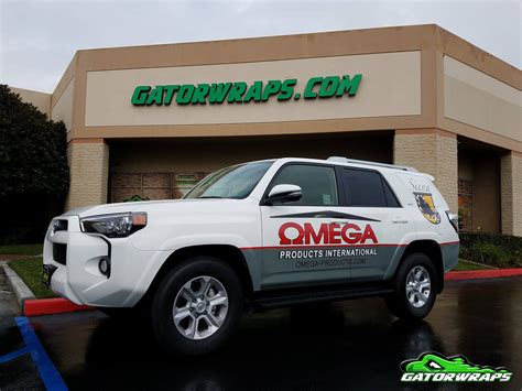 toyota international omega products international toyota 4runner gator wraps
