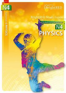 Brightred Publishing  Bright Red Study Guide National 4 Physics