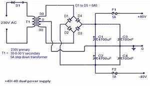 Simple 150 Watt Amplifier Circuit Using Transistors