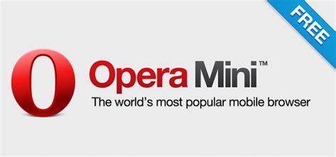 opera mini free version for mobile