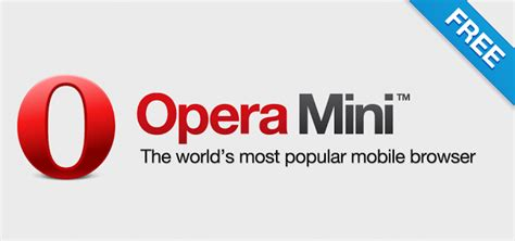 Download Opera Mini Free Latest Version For Mobile