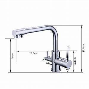 Purificateur D Eau Robinet : 100 en laiton chrome poli chaude et froide purificateur d ~ Premium-room.com Idées de Décoration