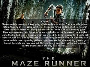 The Maze Runner by Carter M