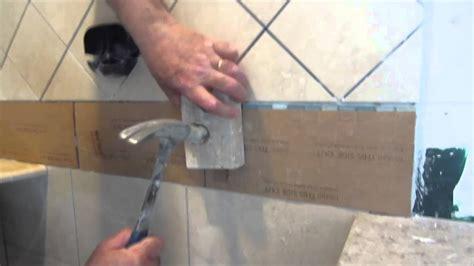 complete tile shower install part  installing glass tile
