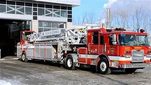 Quebec Pierce Fire Truck 502 - Semi Ladder