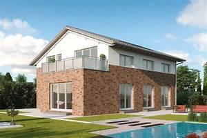 Erker Anbauen Beispiele : ansprechendes zweifamilienhaus mit giebelseitigem erker ~ Lizthompson.info Haus und Dekorationen