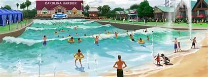 Carowinds Waterpark Carolina Harbor Largest Carolinas Multivu
