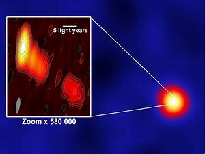 Lightning flashes from a black hole | Max Planck Society