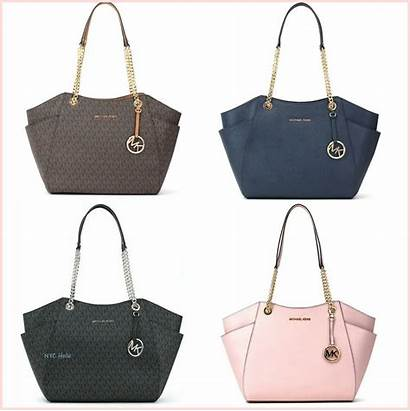 Kors Michael Bag Handbags Tote Leather Chain