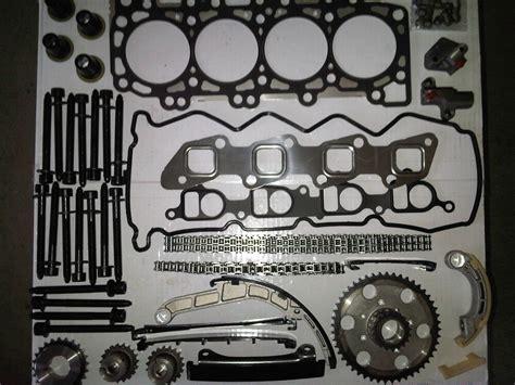 to fit nissan navara d40 2 5 diesel 2005 2010 timing chain kit gasket set ebay