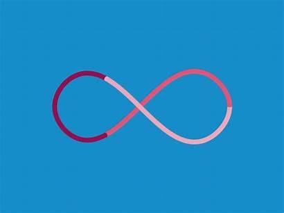 Infinity Loop Infinite Endless Dribbble Circle Deformers