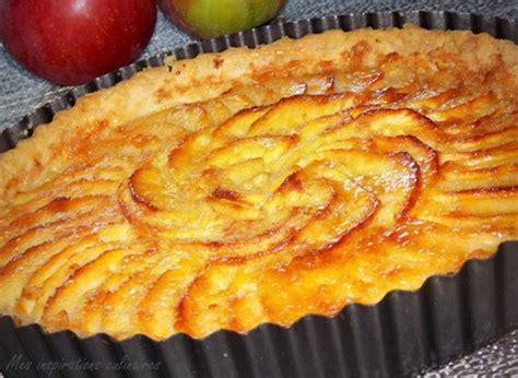 cuisine tarte aux pommes tarte aux pommes au beurre à la cannelle le cuisine