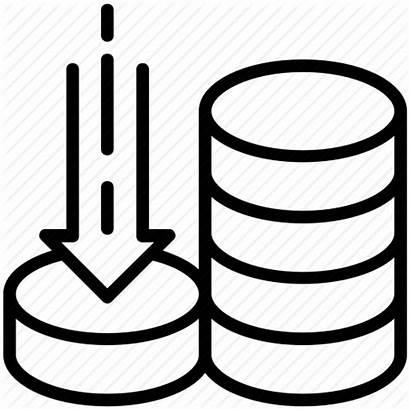 Data Icon Storage Capacity Volume Space Server