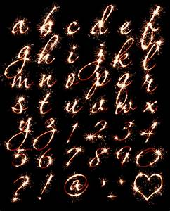 buy sparkler font to give designs warmth of winter holidays With letter sparklers