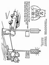 Coloring Road Safety Printable Educational Recommended Mycoloring Bright Colors Favorite sketch template