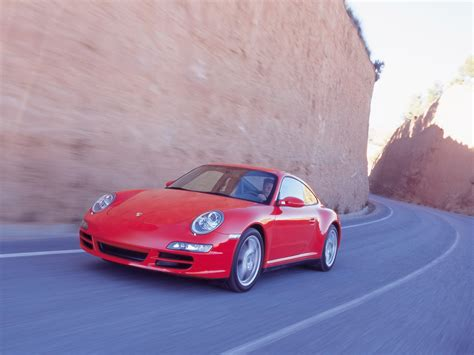 2007 Porsche 911 Carrera 4 Front And Side Speed
