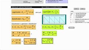 Variable Berechnen : optimale bestellh ufigkeit in der beschaffung ~ Themetempest.com Abrechnung