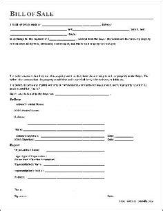 Tax Agreement Template by Printable Sle Vehicle Bill Of Sale Template Form