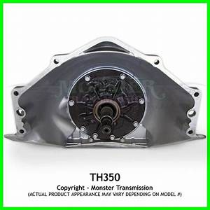 Turbo 350 Th350 Transmission Mild   6 U0026quot  Tail  Rebuilt Th350