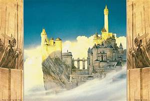 Minas Tirith - Fantasy Lord Of The Rings