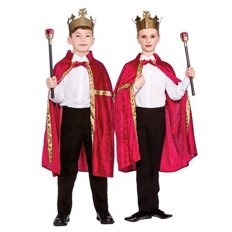 Red Childs Deluxe Velvet Robe & Crown  Dunbar Costumes