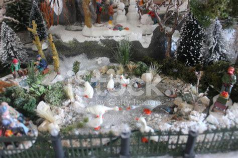 model christmas village miniature houses people winter