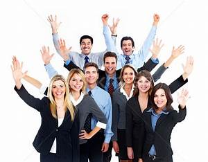 Happy Business people team stock photo © Kurhan