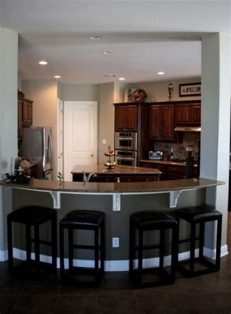 Nice Kitchenbar Area  If We Ever Build Another House