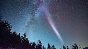 """Hi """"Steve!"""" Unique aurora phenomenon captured amid local ..."""
