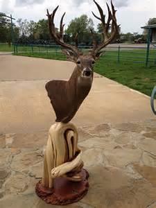 Whitetail Deer Floor Pedestal Mounts