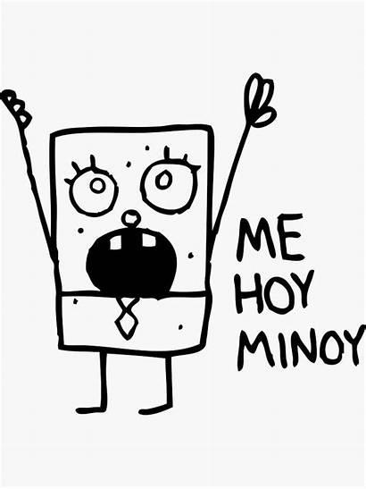 Doodlebob Spongebob Redbubble Sticker Painting Drawings Memes