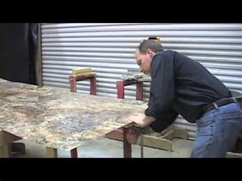diy laminate countertop  bevel edge trim youtube