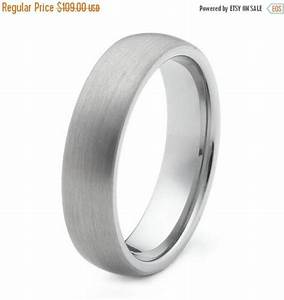 on sale mens wedding ring tungsten with brushed finish With mens wedding ring sale