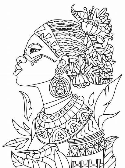 Coloring Adults African App Mandala Relax